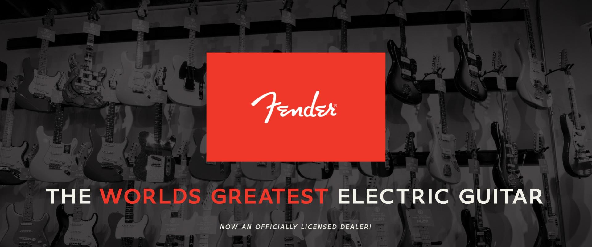 TRG Licensed Fender Dealer
