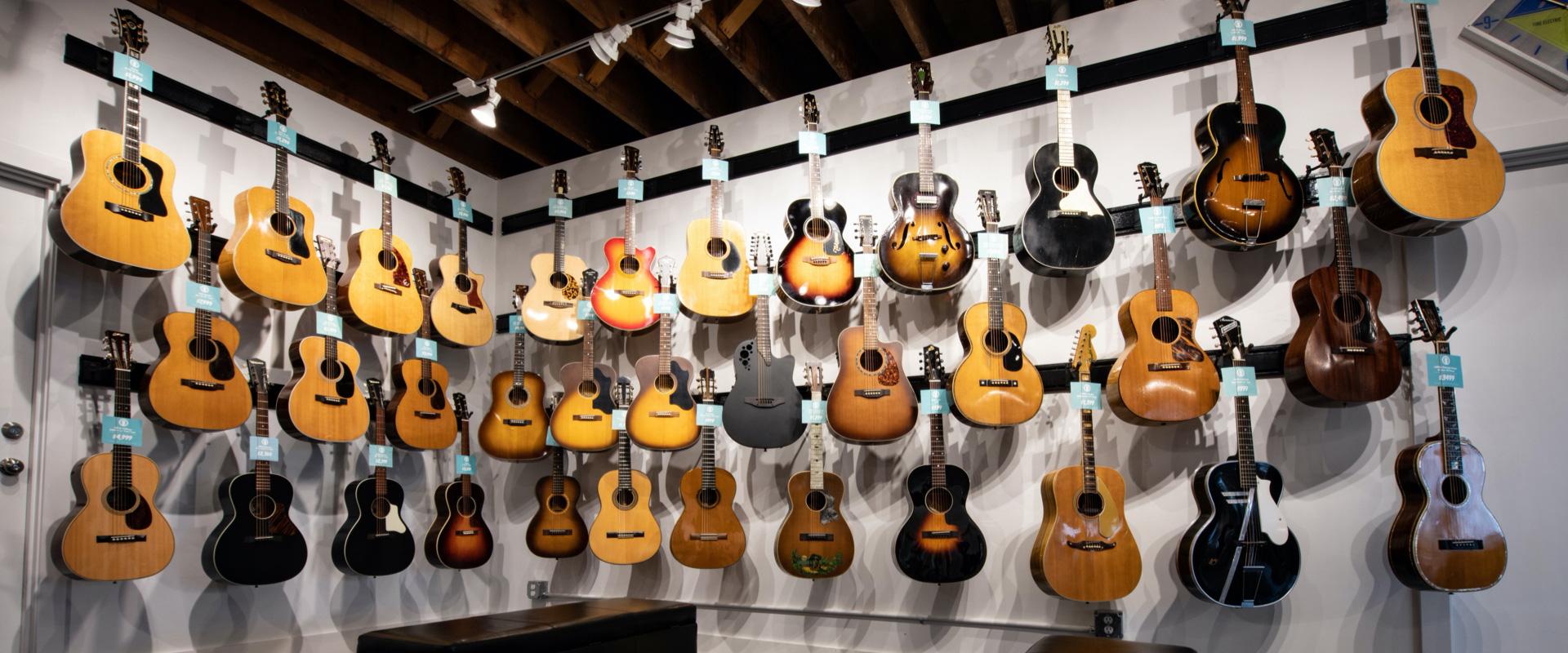 Thunder Road Guitar Wall